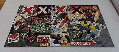 X-MEN -  26,27,30,34 / 1960's Classics / All HIGHER Grade / White Pages - SWEET