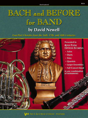 """""""Bach And Before For Band"""" Tenor Saxophone Music Book 1-Method-Sax On Sale New!!"""