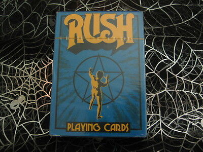 RUSH NEW Playing cards