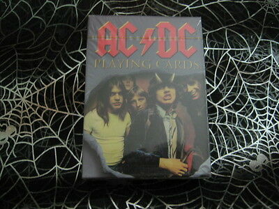 ACDC NEW Playing cards