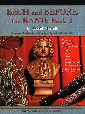 """""""Bach And Before For Band"""" Tenor Saxophone Music Book 2-Method-Sax On Sale New!!"""