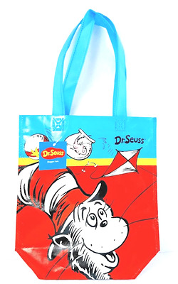 """Dr Seuss """"Cat in the Hat"""" Shopper Tote Bag Reusable Collectable"""