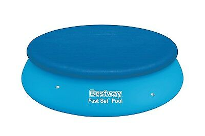 10ft Fast Set Swimming Pool Cover - Blue - Bestway