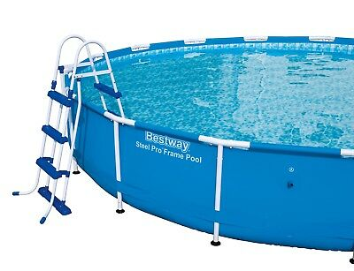 42in Swimming Pool Ladder - Blue and White - Bestway