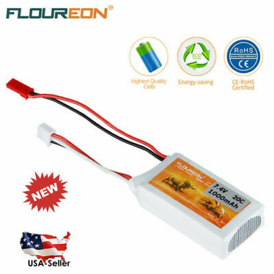US 2S 7.4V 1500mAh 35C Lipo RC Battery for RC Car Truck Truggy RC Hobby Airplane