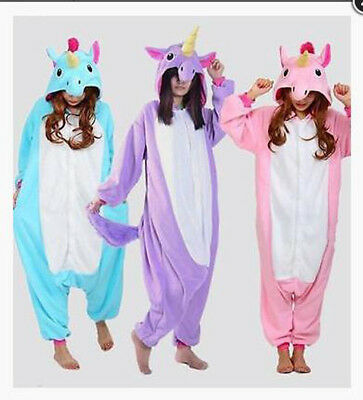 New Unicorn Tenma Unisex Kigurumi Pajamas Animal Cosplay Sleepwear