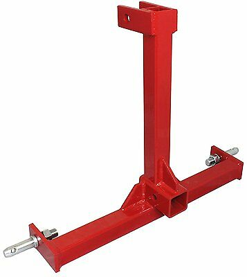 Cat 1 Drawbar 3 pt Tractor trailer hitch receiver Three Point Attachment CAT1R