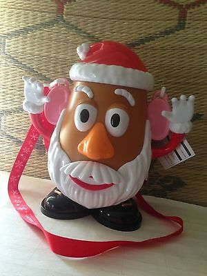 Tokyo Disney Christmas Limited 2016 Mr. Potato Head popcorn Bucket Santa w/tag:)