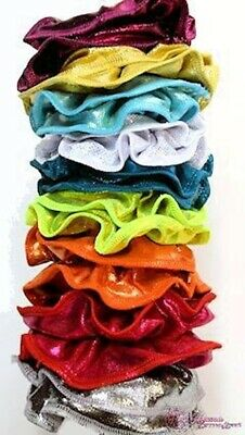 RS Gymwear Scrunchies, Lots of Assorted Colours, ** Free shipping**