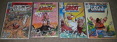Groo the Wanderer Vol 1 Pacific Comics #2, 4, 5, 6 • $10.00