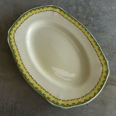 Vintage Royal Staffordshire Pottery A G Wilkinson Ltd Honeyglaze Serving Plate