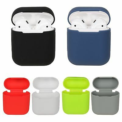 Silicone Shockproof Protective Shell Case Cover For Apple AirPods Charging Case
