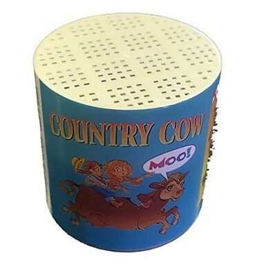 Country Cow Voice Cry Animal NoiseMaker Moo Sound Box Noise Maker Toy Prank