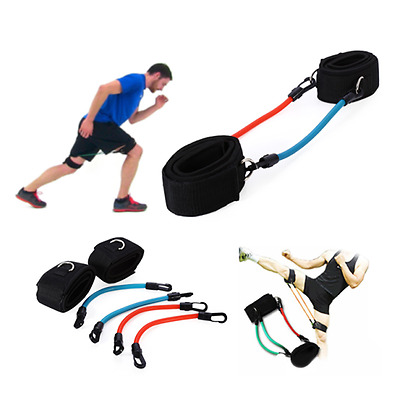 Fitness Exercise Resistance Leg Bands Loop Power Speed Agility Gym Training Tool