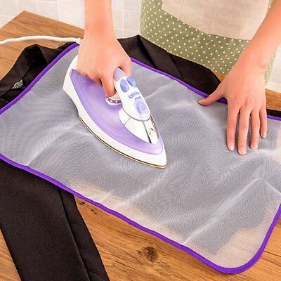 Ironing Scorch Heat Insulation Mesh Cloth Protective Guard For Delicate Garment