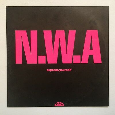 "N.W.A. - Express Yourself - 1988 - Island - 12 BRW 144 - 12"" Single"