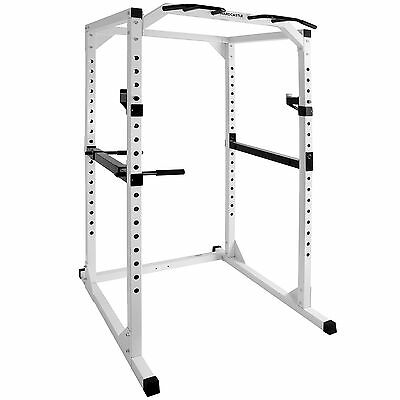 Hardcastle Hd Olympic Power Cage/squat Rack Home Pull Up/dip Bar Weight Lifting