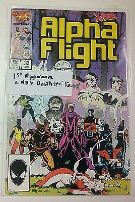 Alpha Flight #33 First Appearance of Lady Deathstrike