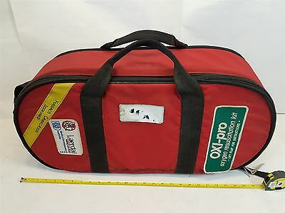 Laerdal Oxi-Pro Oxygen Resuscitation Kit with Linde Oxygen Tank + CIG Regulator