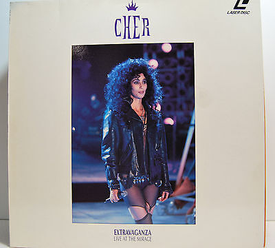 CHER extravaganza live at the mirage ( laser disc )