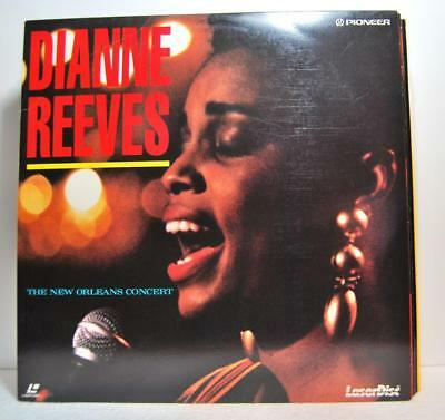 DIANNE REEVES the new orleans concert ( laser disc )