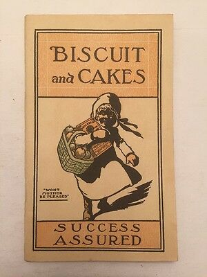 Vintage Reliable Prepared Flour Advertising Cook Book 1915 Biscuit And Cakes Old