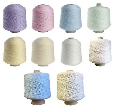 Baby 4 Ply 500g Cone 100% Acrylic Knitting Wool Soft Pastel James Brett Yarn