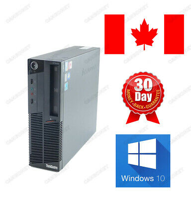 Lenovo Thinkcentre M90P 5864 SFF Desktop i5 3.2Ghz 4G 250G DVD W10H 90 Warranty