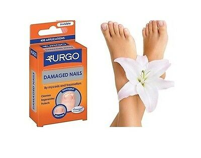 Urgo Filmogel Damaged Nails - Invisible- Antifungal , Cleanses, Protects 3.3ml