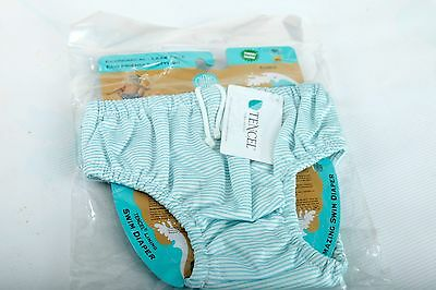 NWT Size X-Large Reusable Easy Snaps Swim Diaper Charlie BananaTencel Lining