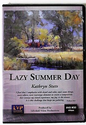 Kathryn Stats: Lazy Summer Day - Art Instruction DVD
