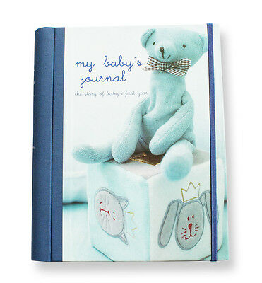 My Baby's Journal in Blue - keepsake book perfect gift for any occassion