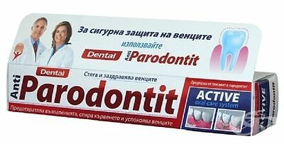 Dental Anti-Parodontit Active is prophylactic toothpaste + soothing effect gums