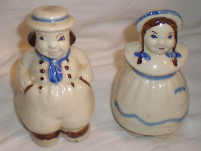 #2. Jack & Jill Shawnee Dutch Boy & Girl Shakers