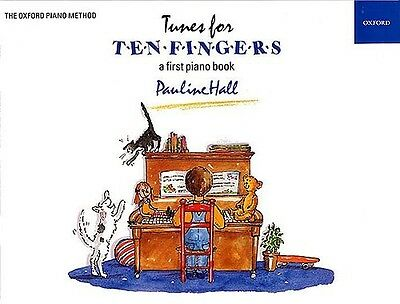 Tunes For Ten Fingers (Piano Time) Sheet Music Tuition Book First Piano Book New