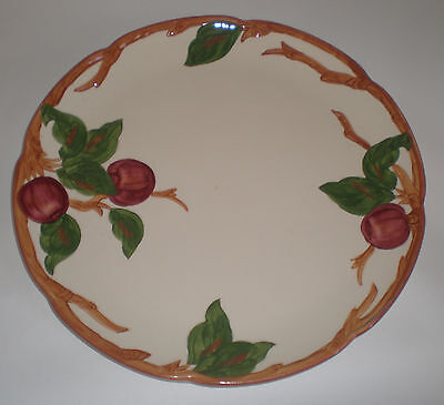 "Franciscan Apple California Usa Vintage  12.5"" Dia Chop Plate Platter .. Mint.."
