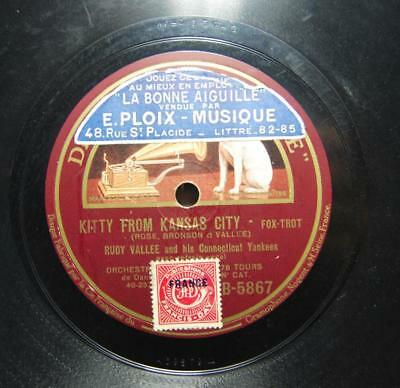 RUDY VALLEE  kitty from kansas city 78 rpm (9)