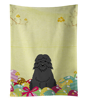Carolines Treasures  BB6074KTWL Easter Eggs Bouvier des Flandres Kitchen Towel