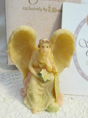 "Seraphim Classics Angel ""ophelia - Heart Seeker""  3.5"" High Ornament #63659"