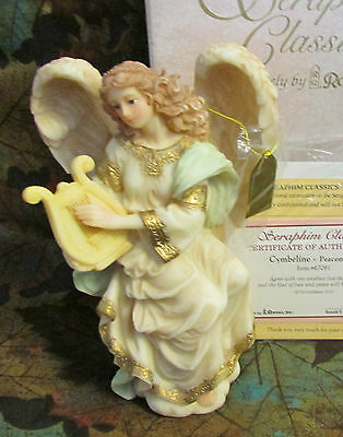"Seraphim Classics Angel ""cymbeline - Peacemaker""  7"" High #67091"