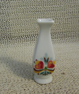 "Vintage Miniature Mini.. 2.25"" High Handpainted Flower Vase"