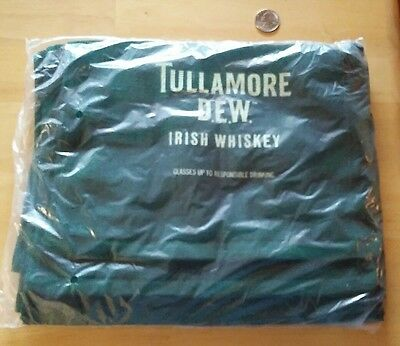 New Pack Of 4 Tulamore Dew Irish Whiskey Professional Bar Towels.