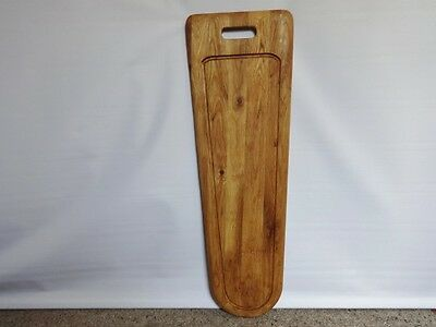 Vintage Large French bread Stick Baguette Wooden chopping board