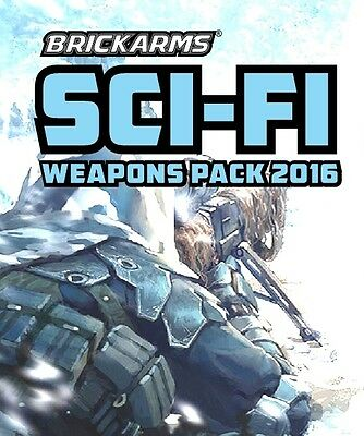Brickarms Sci-Fi Weapons Pack 2016 - Can be used with Lego BNIP