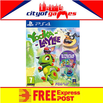 Yooka Laylee Game PS4 New & Sealed  Free Express Post In Stock Now
