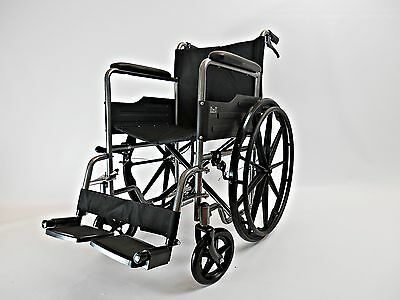 MAG Wheels Lightweight Brakes Self Propelled Folding Wheelchair Puncture Proof