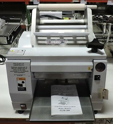 "Skyfood CLM-300 Commercial 12"" Table Top Dough Roller and Sheeter"