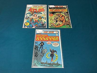 DC Comics 1st Issue Special Lot Of 3 #1-11 The Warlord