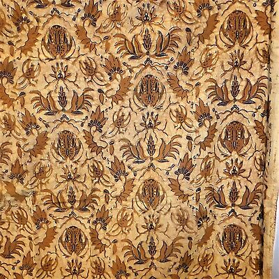 Old style Vintage Java Batik Fabric ~ Over 2 mtrs ~ Very Tradition Pattern~ B137