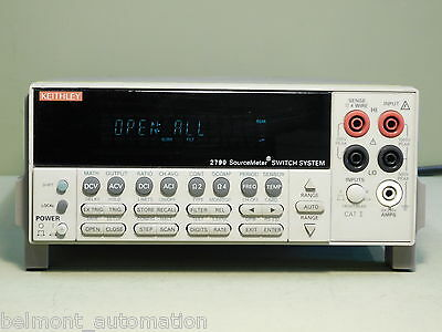 CLEAN & TESTED - Keithley 2790 Source Meter / Switch System COMPLETE